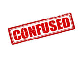 Confused — Stock Vector