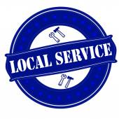 Local service — Stock Vector