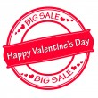 Happy Valentine day big sale — Stock Vector #61864123