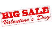 Valentine day big sale — Stock vektor
