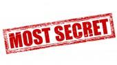 Most secret — Stock Vector