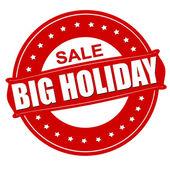 Big holiday sale — Stock Vector