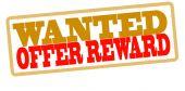 Offer reward — Stock Vector