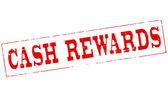 Cash beloningen — Stockvector