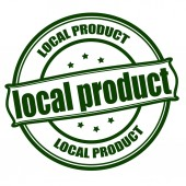 Local product — Stock Vector