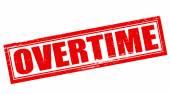 Overtime — Stock Vector