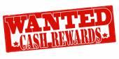 Wanted cash reward — Stock Vector