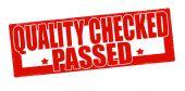 Quality checked passed — Stok Vektör