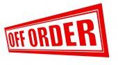 Rabatt på beställning — Stockvektor