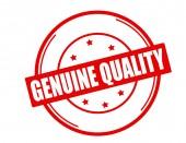 Genuine quality — Stock Vector