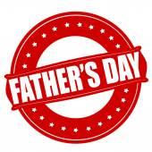 Baba günü — Stok Vektör