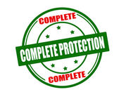 Complete protection — Stock Vector