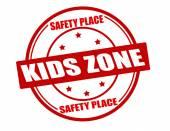 Kids zone — Stock Vector
