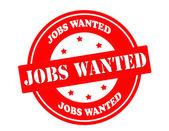Jobs wanted — Stock Vector