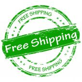 Free shipping — Stock Vector