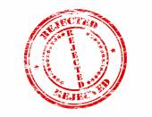 Rejected — Stock Vector