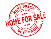 Home for sale — Stock Vector