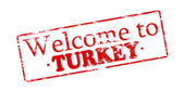 Welcome to Turkey — Stock Vector