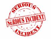 Serious incident — Stock Vector