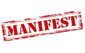 Manifest — Stock Vector