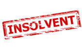 Insolvent — Stock Vector