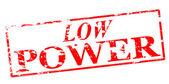Low power — Stock Vector
