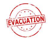 Evacuation — Stock Vector