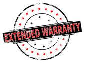 Extended warranty — Stock Vector