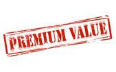 Valor de la prima — Vector de stock