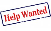 Help wanted — Stock Vector