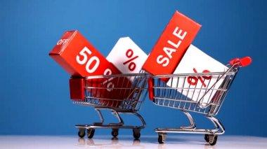 Big sale concept — Stock Video