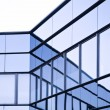 View of steel blue glass high rise building skyscrapers, business concept of successful industrial architecture — Stock Photo #67504849