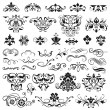 Set of graphic elements for design — Stock Vector #65704405