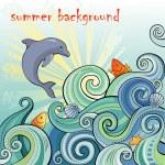 Summer background — Stock Vector #74301853