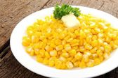 Fried corn — Stock Photo