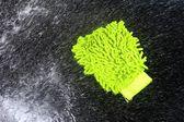 Das auto waschen — Stockfoto