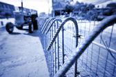Iron cage — Stock Photo