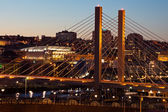 Tacoma Bridge — Stock Photo