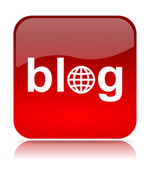 Blog App — Foto de Stock