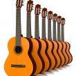 Classical Guitars Collection — Stock Photo #71716253