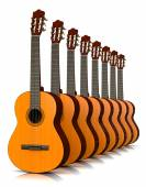 Classical Guitars Collection — Stock Photo