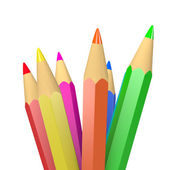 Colorful Crayons Illustration — Stock Photo
