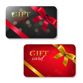 Gift Cards Big Set — Stock Vector