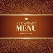 Cafe And Restaurant Menu — Stock Vector