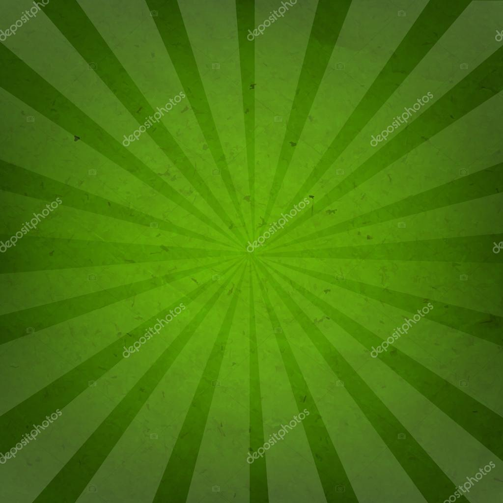green sunburst background - photo #29