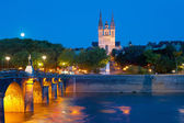 Angers at a summer night — Foto Stock