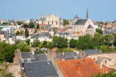 Poitiers at a summer day — Foto Stock