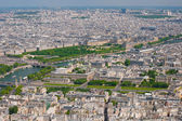 Paris in a sunny summer day — Foto Stock