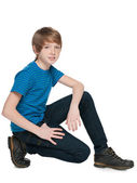 Preteen boy — Stock Photo