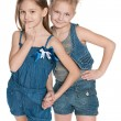 Clever little girls — Stock Photo #54090999